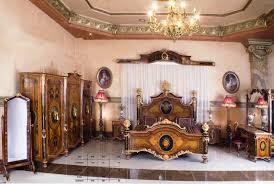 French Style Luxury Ormolu Mounted Marquetry Bedroom, Napoleon Style Bedroom,  Italian Style Veneer