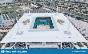 Hard Rock Stadium Seating Chart Hurricanes Aerial View Drone Photography Of Hard Rock Stadium Located