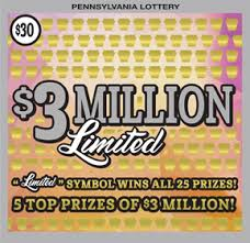 Pennsylvania Lottery Scratch Offs Active Games