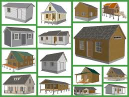 small cabin shed plans