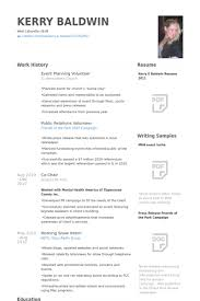 Best Ideas Of Resume For Event Planner Unique Event Planning Resume