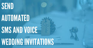 wedding planners send automated invitations