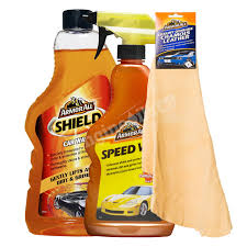 photo s of the armor all shield car wash sd wax spray genuine chamois leather pro92