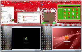 Christmas Program Theme Transform Windows 7 To Christmas With Christmas Skin Pack