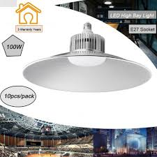 Best Gym Lighting 10x 100w Led High Bay Light Industrial Factory Warehouse Commercial Gym Lighting