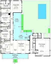 u shaped house plans u shaped house plans with pool in middle re l shaped house