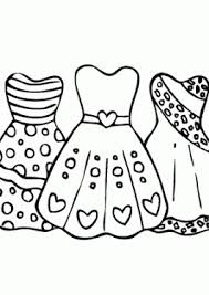 Coloring Pages For Girls Free Printable And Online Prom Dresses