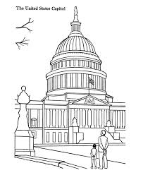 Small Picture USA Printables USA Capitol Building coloring page Historic Govt