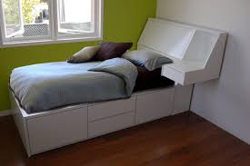 high platform beds with storage. Modern Bed With Storage Underneath High Platform Beds A