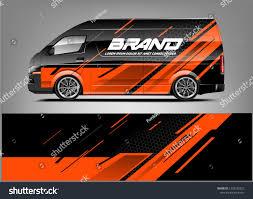 Toyota Hiace Sticker Design Company Car Wrap Wrap Design For Company Car And Services