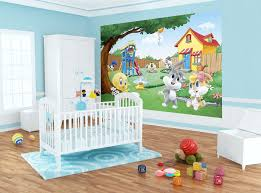 baby looney tunes 4 piece crib bedding set