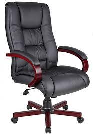 high back leather office chair design elegant black design