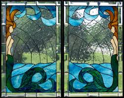 Mermaid Stained Glass Pattern Awesome Ideas