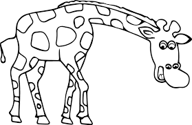 Small Picture Giraffe Coloring Page Wecoloringpage