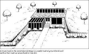 Efficient EarthSheltered Homes  Department Of EnergyEarth Shelter Underground Floor Plans