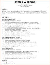 Formidable Resume Restaurant Manager Duties With Restaurant Resume