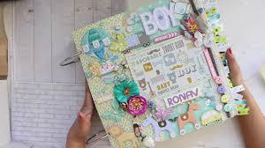 Baby Boy Album Ideas And Inspirations Disney Scrapbook Book Paper