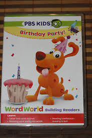Wordworld Happy Birthday Word Friends New Dvd Spelling Phonics