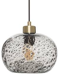 rustic seeded glass drop ceiling light hanging light with black sand powder