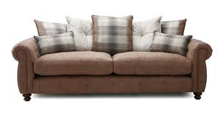 sofa dfs brown for in uk 86 used