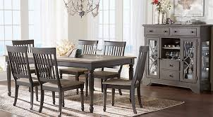 Cindy Crawford Home Ocean Grove Gray 5 Pc Dining Room