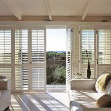delighful patio impressive plantation shutters patio doors for throughout sliding glass plans 13 in door
