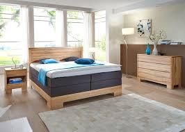 Schlafzimmer Lille Premium Kernbuche Massiv Boxspringbett Kommode