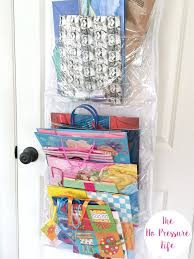 wrapping paper storage ideas for small spaces 3 quick methods gift bag storage