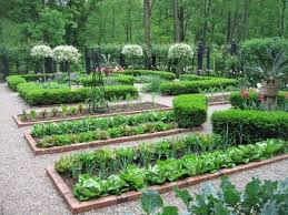 Small Picture Potager garden design ideas plans layout and tips for beginners