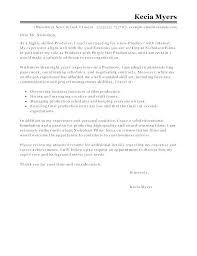 Sample Film Cover Letter Cover Letter Example Internship Finance Resume Letters Jobs Examples