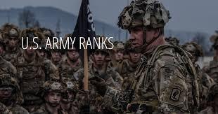 U S Army Ranks