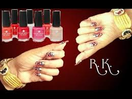 diy nail art decorate your nails easily at home for new year party r k