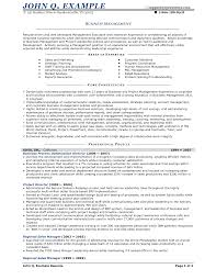Business Owner Resume Resumes Retail Sample Examples Pdf