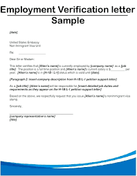 Sample Of Employment Certification Letter Sample Employment Certification Professional Verification