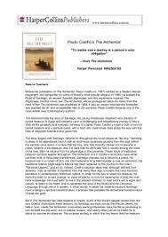 the alchemist literary plan sample pdf paulo coelho s the alchemist
