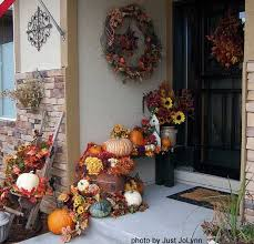 Best 25 Outside Fall Decorations Ideas On Pinterest  Front Porch Decorating For Fall