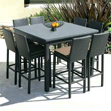 counter height outdoor dining set counter height outdoor table medium size of dining high dining table high table patio set new teak counter height outdoor