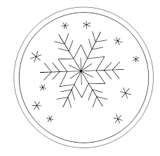 Free Snowflake Machine Embroidery Designs Snowflake Ornament Free Hand Embroidery Pattern