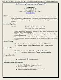 resume templates for teachers best business template job specific resume templates