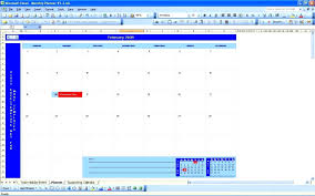 microsoft excel scheduling template template excel agenda template
