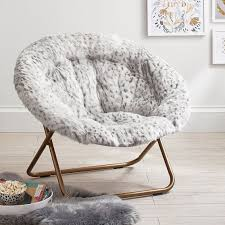 33 shining ideas hang around chair gray leopard faux fur a round pbteen cover pottery