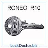 r10 yale roneo filing cabinet key r10