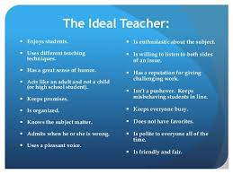 an ideal teacher essay for competitive exams