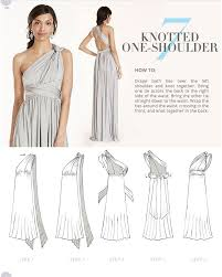 Infinity Dress Pattern Cool Versa Convertible Infinity Bridesmaid Dress In Lustrous Jersey