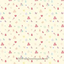 Baby Patterns Beauteous Free Vectors Cute Baby Pattern Abstract