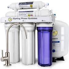 ispring rcc7 5 stage reverse osmosis drinking water filtration system