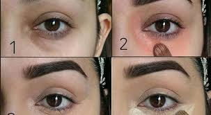 makeup how to hide dark circles under the eyes