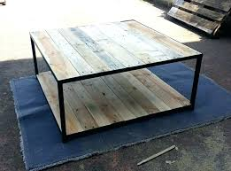 galvanized coffee table metal furniture pallet coffee table with metal base pallet furniture intended for modern galvanized coffee table contemporary