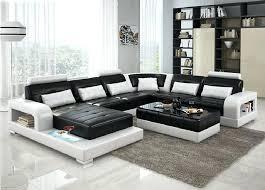 black living room sets black and white living room set elegant modern sofa throughout 1