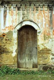 vietnam photograph old wooden door by rick piper photography